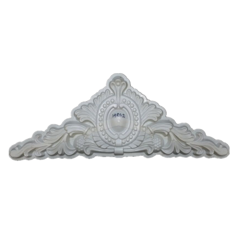 H52*L140cm (20.47 * 55.12in)  GRC ABS Wave /Chrysanthemum Petal &Oval Precast Home Decoration/ Villa Wall Concrete Applique Mold