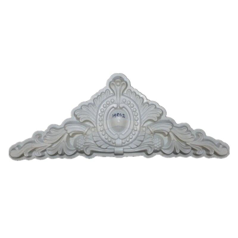 H52*L140cm (20.47 * 55.12in)  GRC ABS Wave /Chrysanthemum Petal &Oval Precast Home Decoration/ Villa Wall Concrete Applique Mold