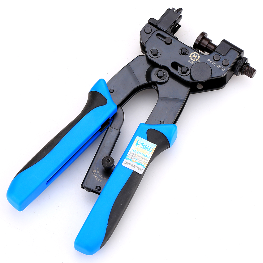 Free Shipping HT-H510B F /Q9 Head BNC /RCA75-5-7 Extrusion Pliers , Extrusion Type F Head Crimping Pliers