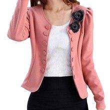Hot New Autumn Fashion Women O-Neck Long Sleeve Basic Outwear Coat Casual Jacket