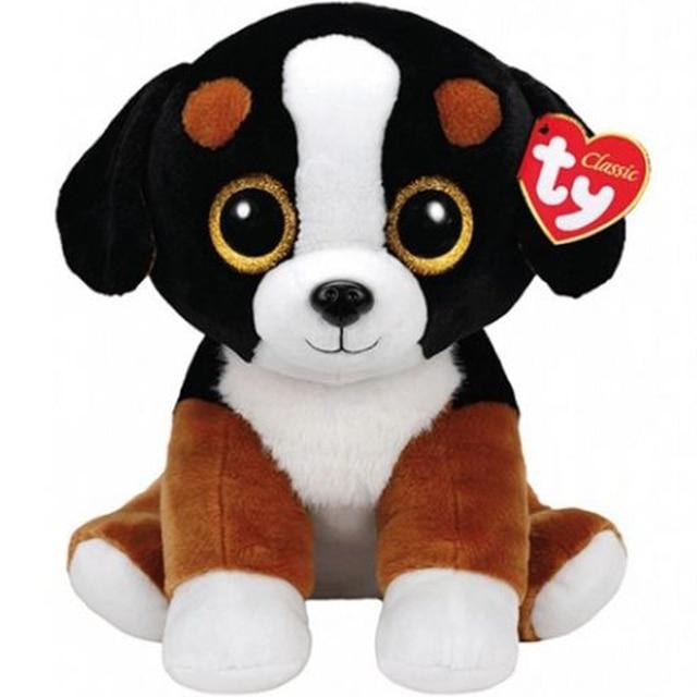 Pyoopeo Ty Beanie Babies 20 50cm Roscoe The Black White Dog Plush