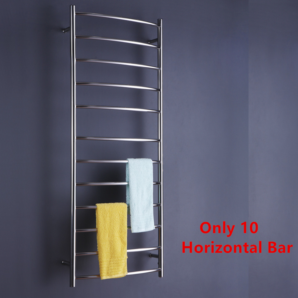 Free shipping Wall Mounted S/S304 Polish Towel Rail Electric Heated Towel Dryer Towel Warmer TW-RC6 dls rc6 2