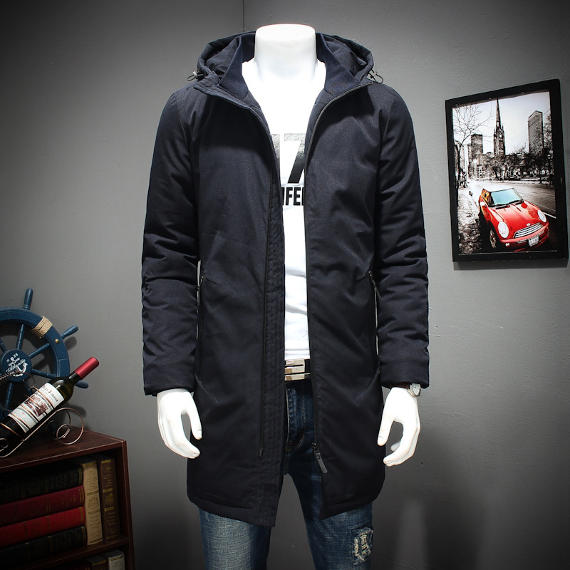 8XL Winter Cotton-padded Clothes Long Youth Increase Fertilizer Enlarge Even Cotton Cap Loose Coat The Fat Jacket Overcoat блузон fake ethics youth 8 16 лет