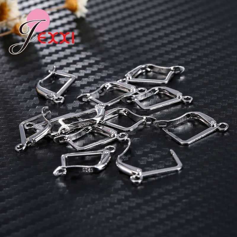 200 teile/los 925 Sterling Silber Erkenntnisse Einzelhandel Karabiner Haken Für Halskette Armband Kette DIY Schmuck