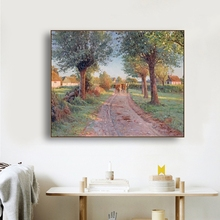 Rural Scene Famous Oil Paintings Wall Art Poster Print Canvas Painting Calligraphy Decor Picture for Living Room Home