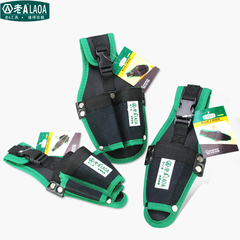 LAOA Multifunction Tool Bag 600D Double Layers Oxford Fabric Repair Waist Bags Tool Pockets