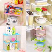 Bathroom Organizer Multifunctional Storage Rack Desktop Multi layer Plastic Shelves Kitchen Holder