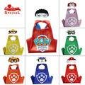 Дети День Рождения Супергероя партии подарок Чейз mashall Мыса Маска Набор Детские Мальчики Девочки Мультфильм дети костюм 3-8Y