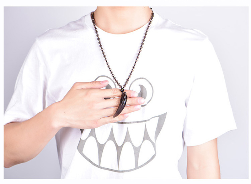Wolf Tooth Necklace