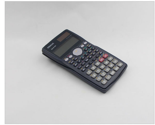 OSALO 991MS Scientific Calculator Solar Dual Power 401 Function Calculadora Cientifica Student Calculated Calculator As Gift