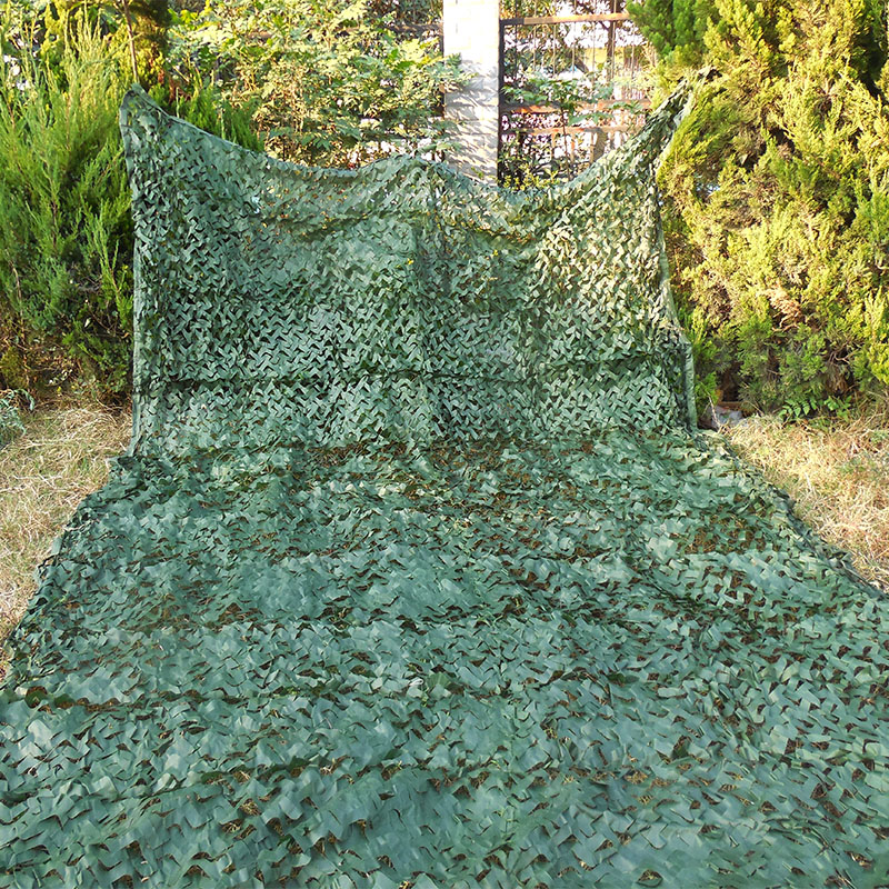 3x7M Camo netting army green camouflage net household decoration mesh nets covers sun shade tent
