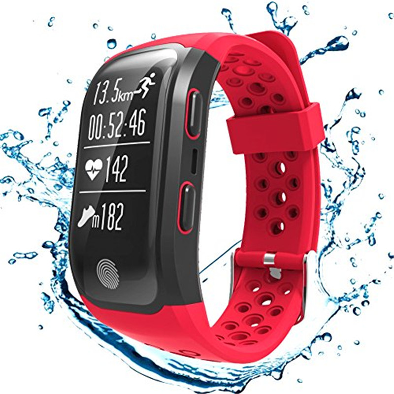 Smartwatch GPS Bluetooth IP68 Waterproof Wristband Sports Models Heart Rate Monitor for Android IOS for xiaomi watch men women volemer gps smart watch ip68 waterproof sports heart rate monitor bluetooth wristband oxygen compass smartwatch for android ios
