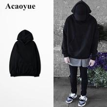 Acaoyue Fashion Brand 2018 Winter Fleece Adolescent Hoodie