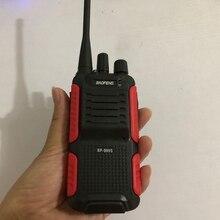 2019 mais novo baofeng BF 999S walkie talkie uhf 400 470mhz portátil handheld em dois sentidos rádio 1800mah bateria