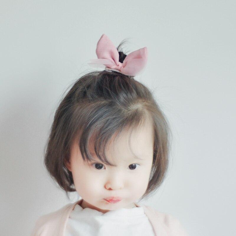 Cute Baby Girls Hair Pins Fabric And Mesh Bow Hair Barrettes Hair Clip Bowknots Clips Headwear Sweet Princess Style Accessories
