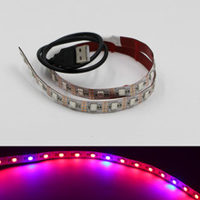 Led Grow Light 5050 SMD Led Strip DC 5V Plant Tape Lamp Grow Hydroponics  Equipment 4