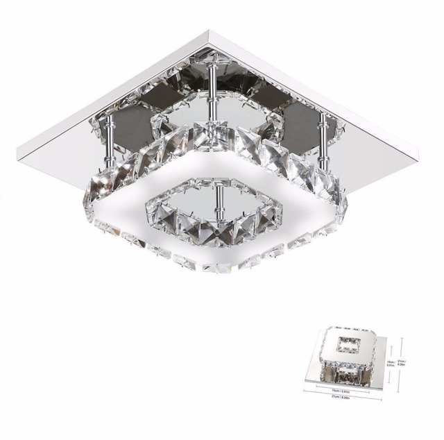 Nowoczesne Kryształowe Lampy Sufitowe Oprawy Led Do Montażu