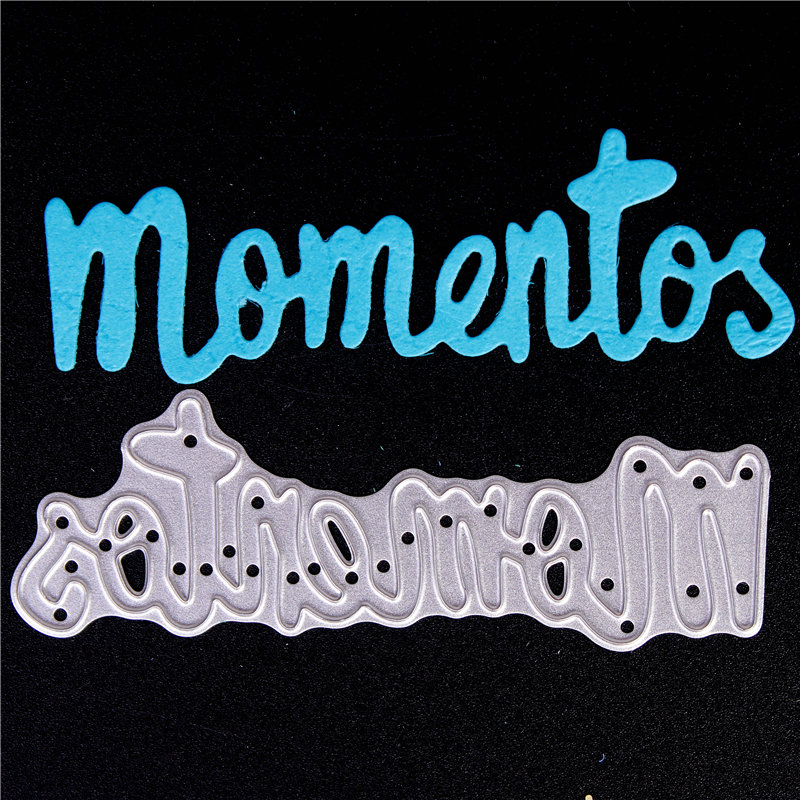 Spanish word Metal Cutting Dies for Diy Scrapbooking Die Cut New 2018 Cuts for Paper Card Making Craft Embossing Photo 2