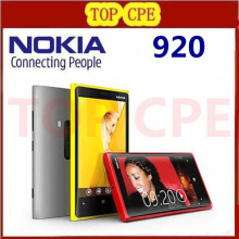1 Year warranty Unlocked Original Nokia Lumia 920 refurbished Windows Phone 8 Dual Core 32GB Storage 4G cell phone