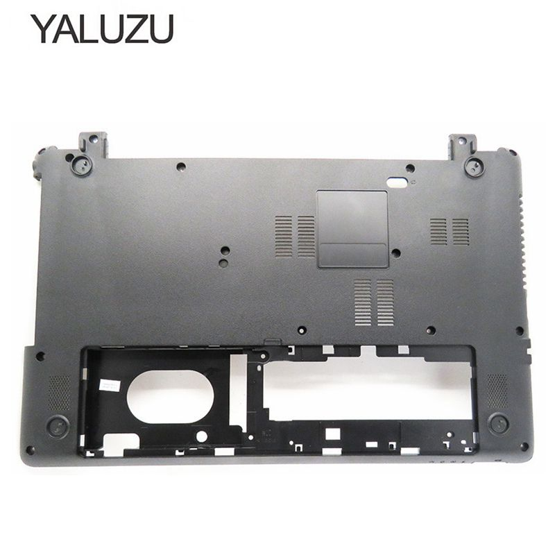 YALUZU New laptop Bottom case cover For Acer Aspire E1-510 E1-530 E1-532 E1-570 E1-572 E1-572G E1-532G V5WE2 Z5WE1 Black shell quying laptop lcd screen for acer aspire m3 581tpg f5 571 e1 572 e1 530 e1 532 e1 570 e1 570g series 15 6 inch 1366x768 30pin