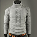 Suéter de Los Hombres 2017 Marca Moda Jerseys Suéter Casual Masculina Jacquard superior de la Solapa De Delgado Mens Sweaters Hombre Pullover Hombres XXL