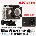 "Câmera de Vídeo de ação Allwinner V3 4 K/30fps 1080 P/60fps Wi-fi Mini Câmera Ultra HD 4 K 2.0 ""170D Helmet Cam Ir Pro câmera À Prova D' Água"