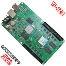 LongGreat TF-QC3 Синхронизация RGB LED Платы Управления с 10x HUB75 Выходы Поддержка 512×160 Пикселей