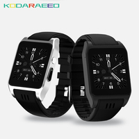 X86 Smart watch Android 4.4 MTK6572 1.54inch 3G DualCore 0.3MP Camera bluetooth 3G Gps SIM Card Skype wifi for android phone