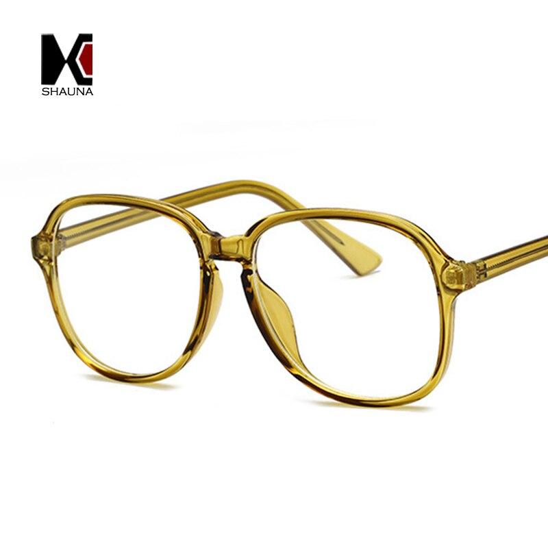 Herren-brillen DemüTigen Shauna Mode Candy Farben Frauen Gläser Rahmen Edelstahl Draht Arm Retro Männer Optische Brillen