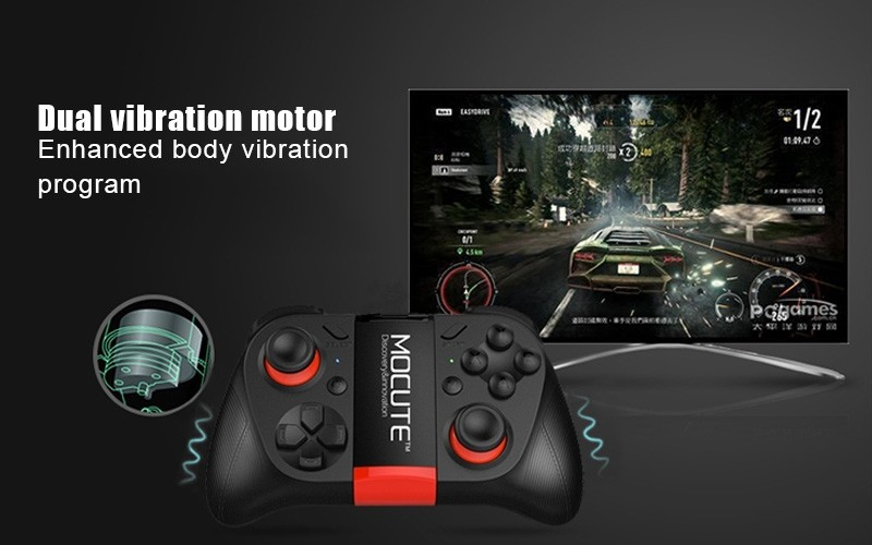 Hot!MOCUTE Wireless Bluetooth Games Handle 3.0 Controller Dual Joystick for Iphone and Android System & Laptop and VR 3D Glasses 10