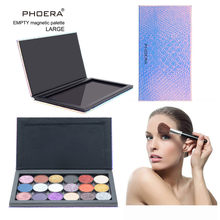 18 Color Professional Eyeshadow Palette Waterproof Empty Magnetic Makeup Palette Pad Leopard Large Pattern DIY Makeup Tool L58(China)
