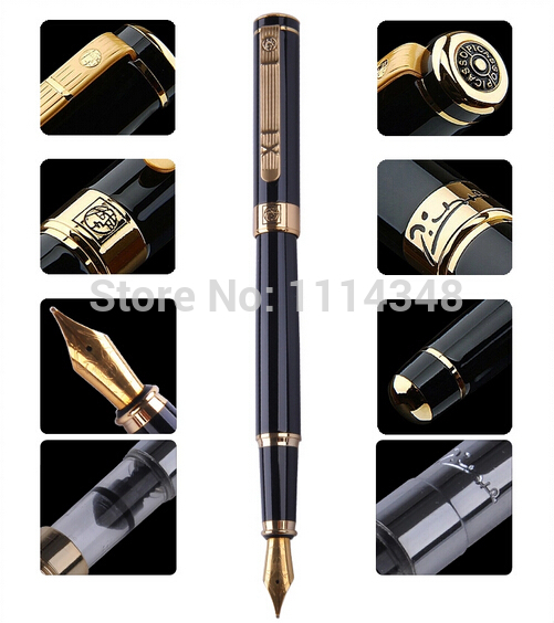 Picasso pen true men and women dedicated Black Gold Fountain Pen 902 gift
