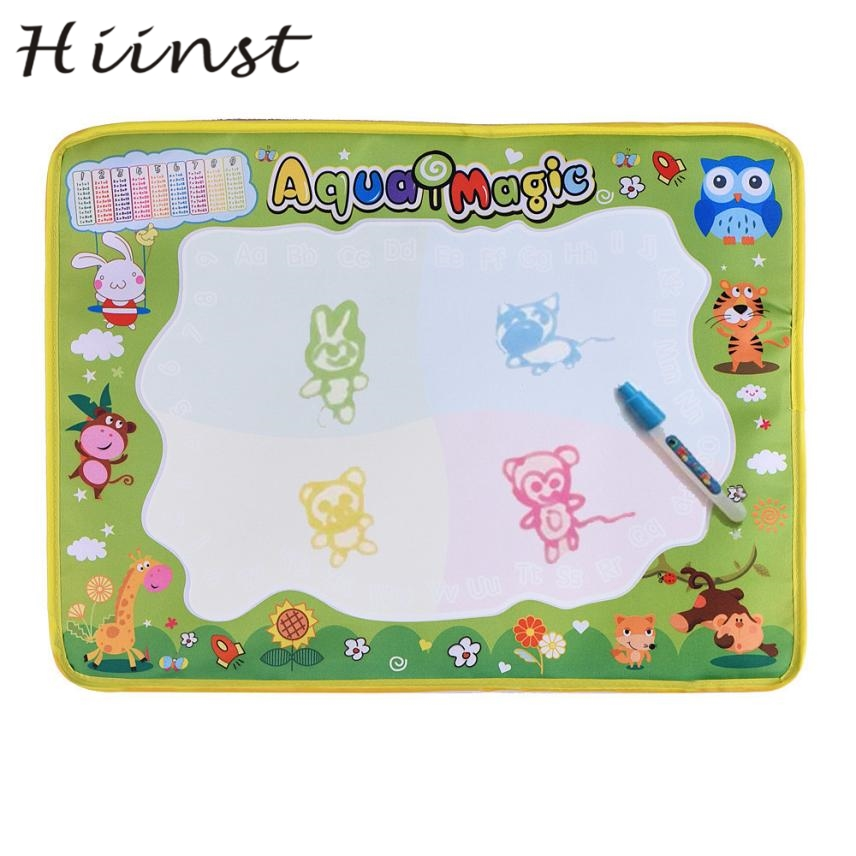 HIINST Animal graffiti magical water canvas Water Drawing Painting Writing Mat Board Magic Pen Doodle Gift AUG1430P