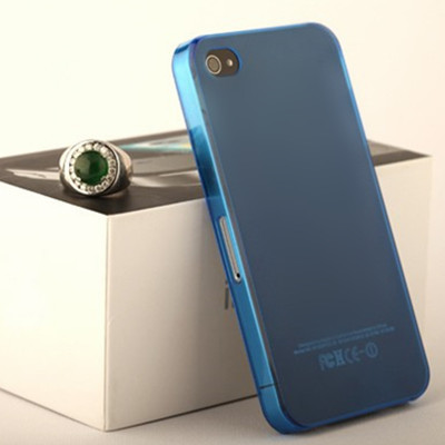 New 50PCS frosted ultrathin protection shell high transparent for iphone 4 4s case #8142