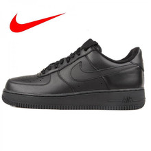huge discount 2bf6f e342a Original New Arrival Official Nike AIR FORCE 1 AF1 Unisex Men's Breathable  Skateboarding Shoes Trainers 315122