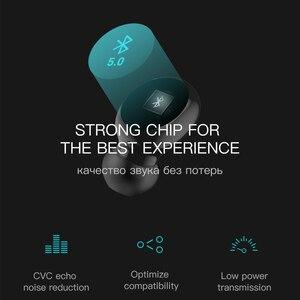 Image 5 - Auriculares inalámbricos con Bluetooth Esvne Q32 TWS 5,0 auriculares sin manos auriculares con sonido envolvente 3D deportes en la oreja auriculares inalámbricos impermeables