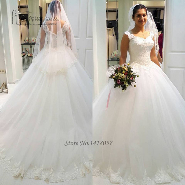 Country Western Wedding Dresses Turkey Ball Gown Wedding Gowns Lace ...