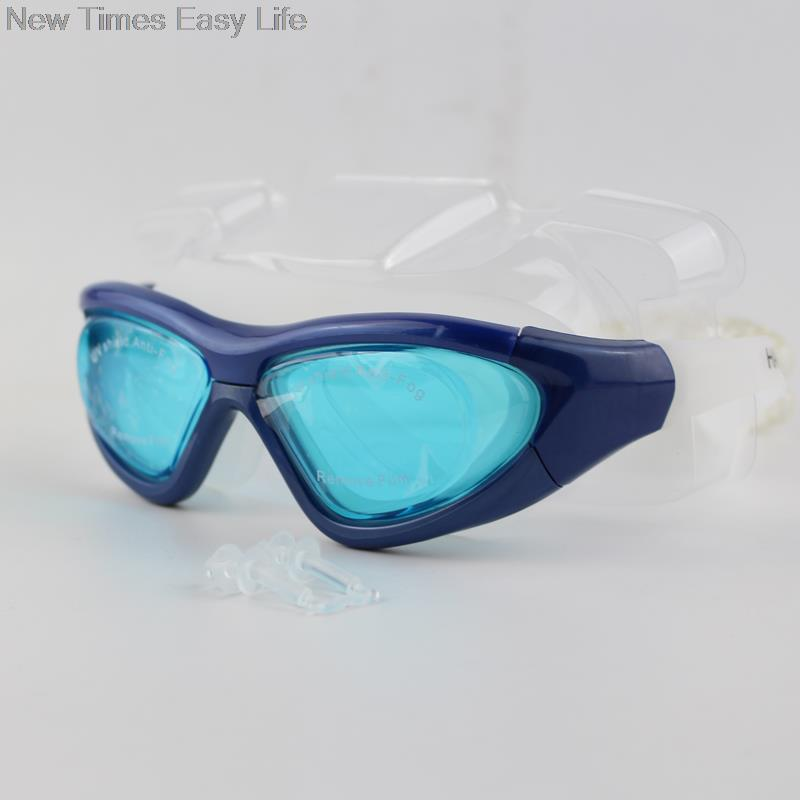 Large Wide Unisex Professional Anti fog UV Protection Waterppoof Swimming  Glasses Swim Pool Water Sports Goggles Eyewear w  Case-in Swimming Eyewear  from ... f4d0a7cb3f