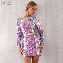 hiver robe Mini paillettes