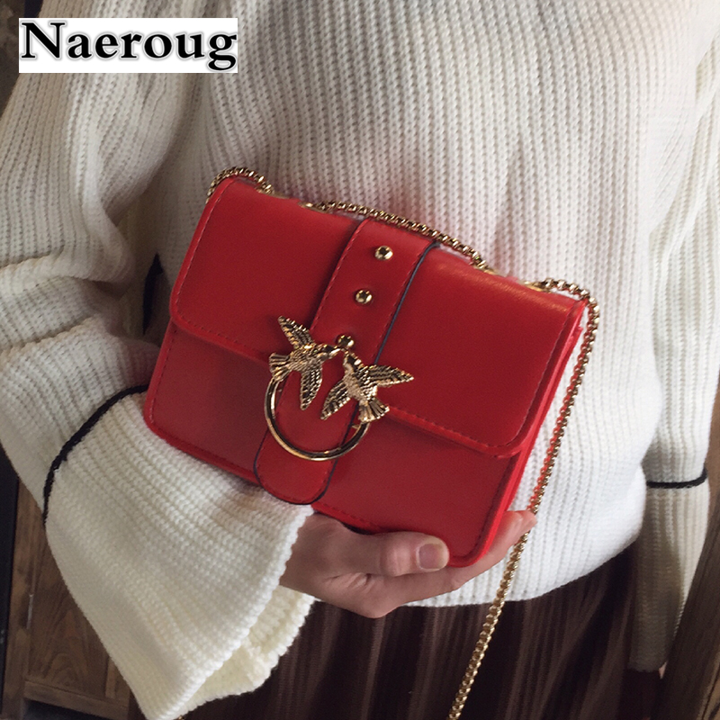 Luxury Brand Famous Design Flap Women Chain Shoulder Bag Swallow Lock Messenger Crossbody Bags Handbag and Purse Red Black Totes недорго, оригинальная цена