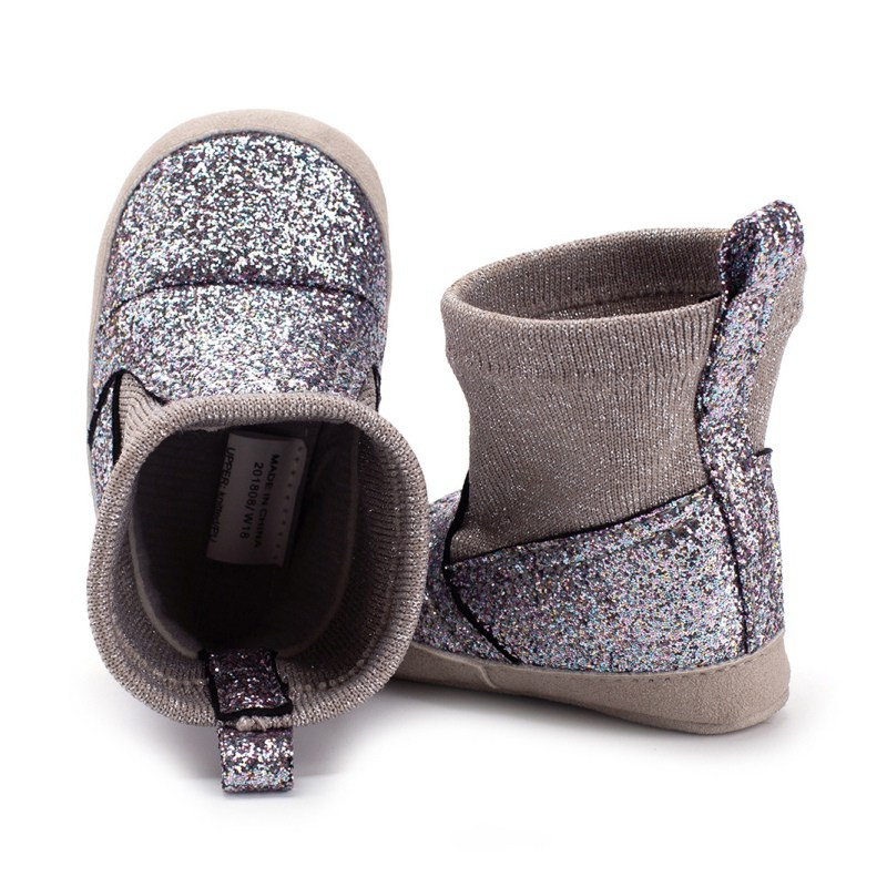 Boots Shoes First-Walkers Bebe Toddler Newborn Infant Baby Autumn Winter Kids Cute Crib