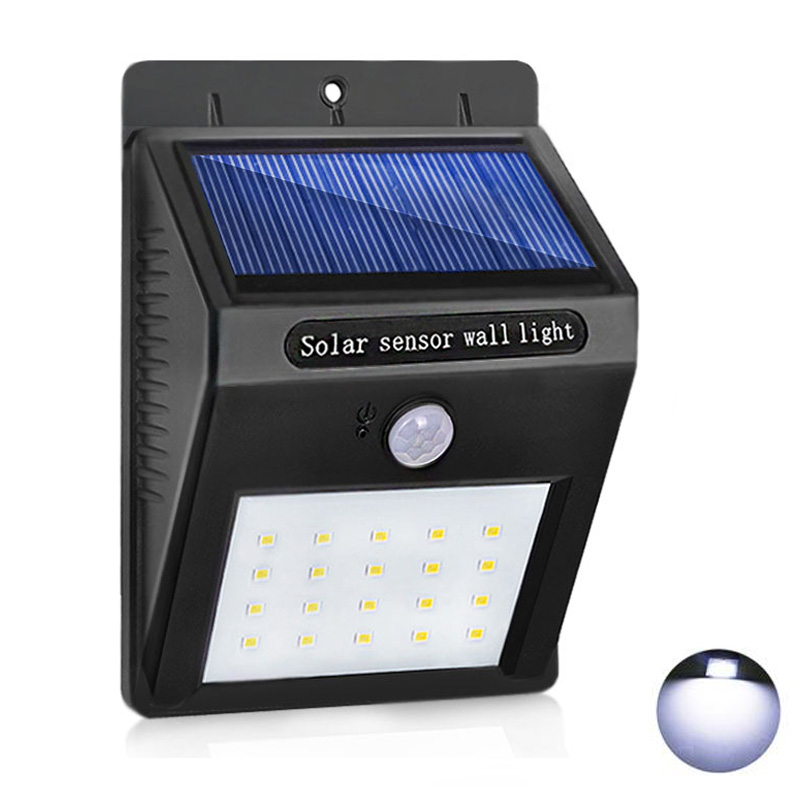 led solar light 20led led solar lamp waterproof ip65 outdoor lighting ultra bright wall lamp for. Black Bedroom Furniture Sets. Home Design Ideas