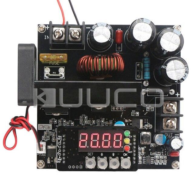 900W Power Supply Module DC860V To 10120V 15A NC Adjustable Voltage Regulator DC12V 24V Boost Converter With Voltmeter Ammeter