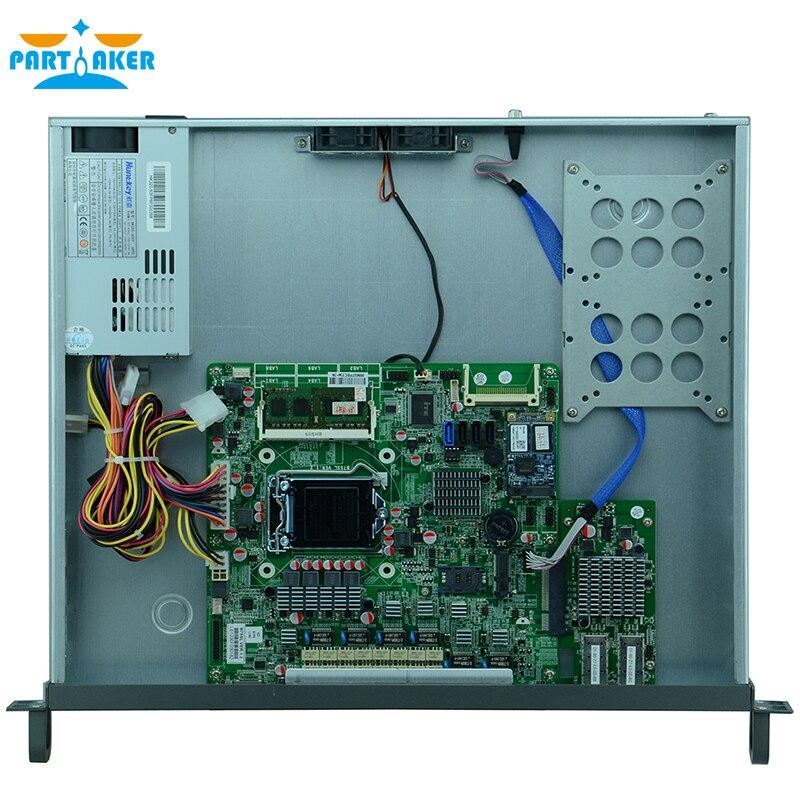 Причастником F9 H67 8 LAN 1u сетевой сервер межсетевого экрана устройства с Intel G2020 2 г Оперативная память 8 г SSD