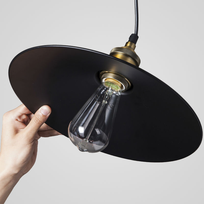 1 pcs loft rh industrial warehouse pendant lights american lamps 1 pcs loft rh industrial warehouse pendant lights american lamps vintage lighting for restaurantbedroom home decoration black in pendant lights from lights aloadofball
