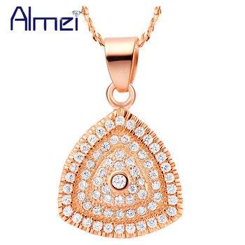 7510bc5a1a93 Collares largos Lady Bijoux plata collar Collares Mujer cadena Joyeria  Bisuteria amor mujeres triángulo moda Ulove N532