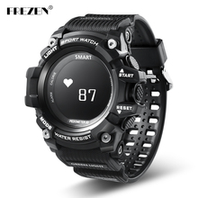 FREZEN Smart Sports Watch Heart Rate Monitor IP68 Waterproof T1 OLED Display Pedemeter Call Reminder For Android IOS Phone
