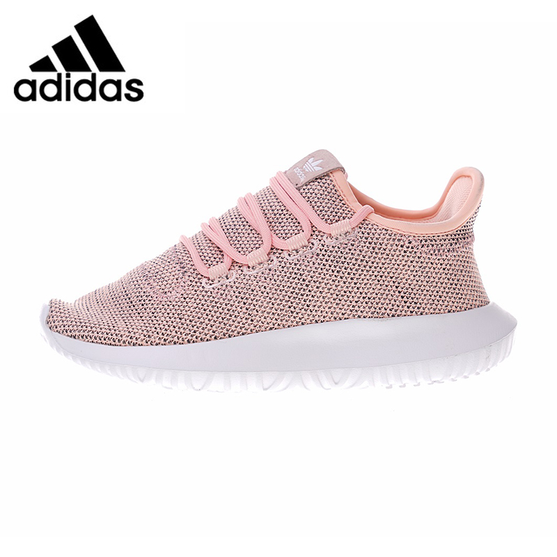 ADIDAS TUBULAR SHADOW Women's Running Shoes, Pink & White, Breathable Shock Absorbing Lightweight Wear-resistant BB8871