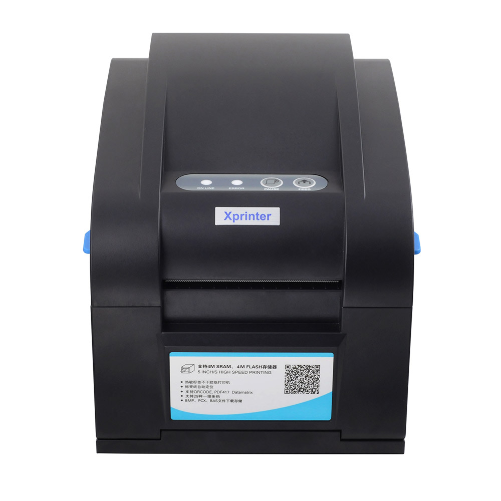 Free shipping USB+Ethernet+Serial Thermal barcode printer Thermal label printer for the paper width between20-82mm стоимость