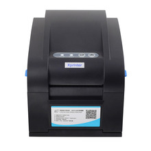 Free shipping USB+Ethernet+Serial  Thermal barcode printer Thermal label printer for the paper width between20-82mm
